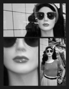 Mannequin collage