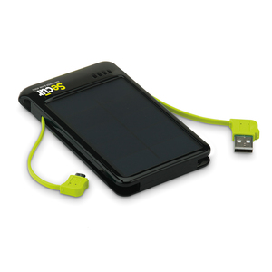 Secure Sun Power Bank 4000 Built-in Cables