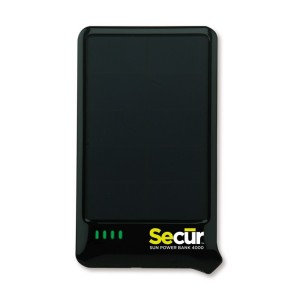 Secur Sun Power Bank 4000
