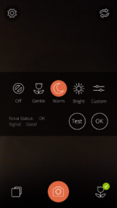 Nova App Flash Settings