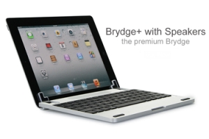 Brydge+ Keyboard for iPad with Speakers
