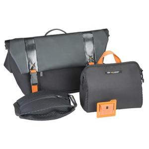 Messenger Bag and Bonus Bags
