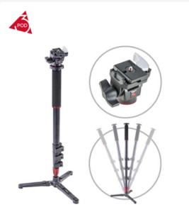 3Pod Monopod with Tilt Head Bundle