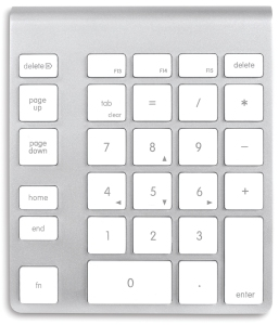 Mac Keyboard KeyPad