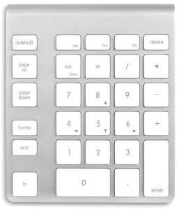 Mac Keyboard KeyPad